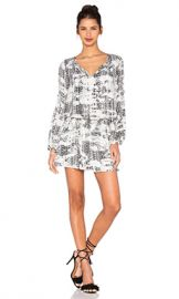Parker Maeve Dress in Black Graphic from Revolve com at Revolve