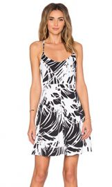 Parker Marigold Dress in Black Cordoba from Revolve com at Revolve