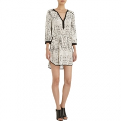 Parker Printed Medium Sleeve Dress at Barneys