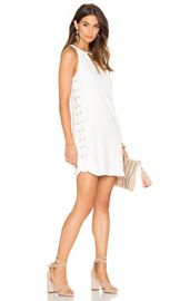 Parker Riviera Dress in Pearl from Revolvecom at Revolve
