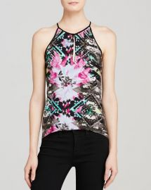 Parker Tank - Nassau Combo Silk Charmeuse at Bloomingdales