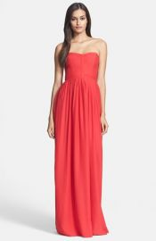 Parker and39Bayouand39 Silk Maxi Dress at Nordstrom