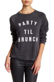 Party \'Til Brunch Pullover Sweater by Project Social T at Nordstrom Rack