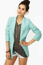 Pastel blazer from Nasty Gal at Nasty Gal
