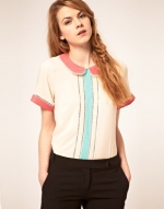 Pastel collared top like Brittanys at Asos