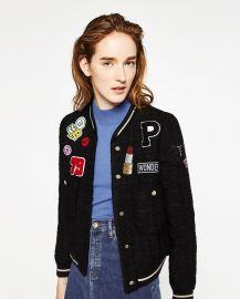 Patch Jacket at Zara
