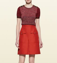 Patchwork knit Top at Gucci