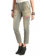 Patchwork trousers by Free People at Lord & Taylor