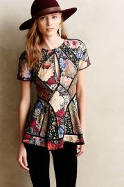 Patchworked Peasant Tunic by Zimmermann at Anthropologie