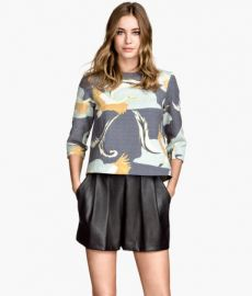 Patterned Blouse at H&M