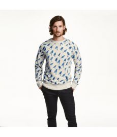 Patterned Sweatshirt at H&M