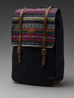 Patterned backpack like Tessas at Revolve