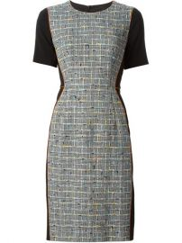 Paul Smith Black Label Tweed Panelled Dress - Chinand39s at Farfetch