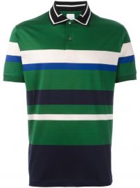 Paul Smith Contrasting Collar Polo Shirt x at Farfetch