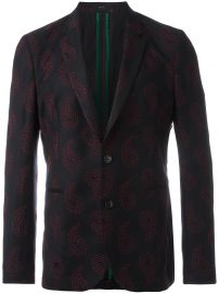 Paul Smith Paisley Embroidery Blazer at Farfetch