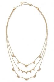 Pave Chevron Necklace at Stella & Dot