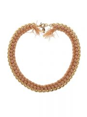 Peach Estelle Necklace at Jami