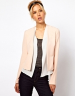 Peach blazer from ASOS at Asos