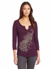 Peacock tee by Lucky Brand at Amazon