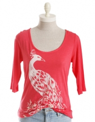Peacock tee by Lucky Brand at Lord & Taylor