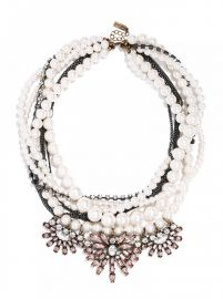 Pearl Bennet Bib Necklace at Baublebar