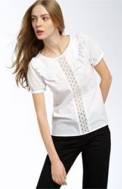 Pearl Cotton Eyelet Top at Nordstrom