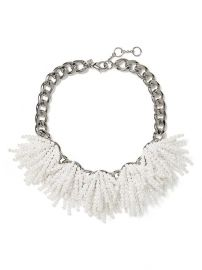 Pearl Explosion Necklace at Banana Republic