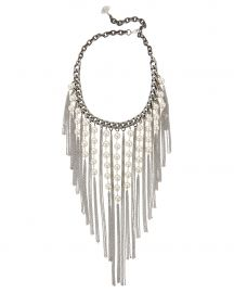 Pearl Fringe Necklace at Intermix