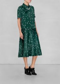 Pearl Print Collar Dress at & Other Stories