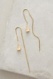 Pearlblossom threaded earrings at Anthropologie