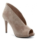 Peep toe booties by Pelle Moda at Dillards