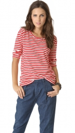 Pencil striped pullover by Madewell at Shopbop