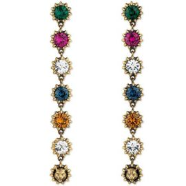 Pendant Earrings With Crystals at Gucci