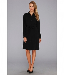 Pendleton Travel Tricotine Traveler Dress Black Travel Tricotine at Zappos