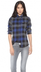 Penfield Chatham Plaid Button Down at Shopbop