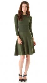Pennys green dress at Shopbop