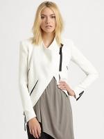 Pennys white blazer at Saks Fifth Avenue