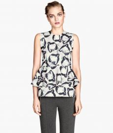Peplum Top at H&M