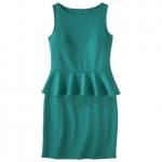 Peplum dress by Mossimo at Target at Target