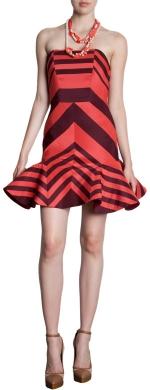 Peplum hem dress by Lanvin at Barneys Warehouse