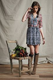 Perenne Shirtdress at Anthropologie