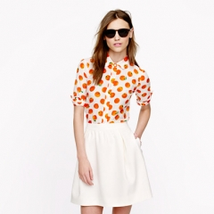 Perfect Shirt in Citrus Print at J. Crew