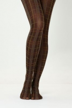 Perfectly plaid tights from Anthropologie at Anthropologie