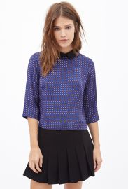 Peter Pan Collar top at Forever 21