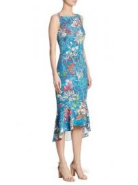 Peter Pilotto - Stretch Floral-Print Dress at Saks Fifth Avenue