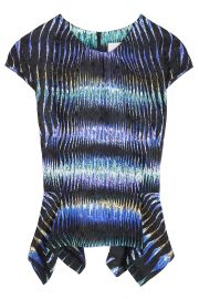 Peter Pilotto Peplum Top at Boutique 1