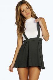 Peyton Pinafore Skirt at Boohoo