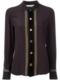 Philosophy Di Lorenzo Serafini Striped Polka Dot Blouse at Farfetch