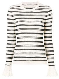 Philosophy Di Lorenzo Serafini Striped Knit Jumper - Farfetch at Farfetch