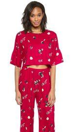 Piamita Elisa Crop Blouse at Shopbop